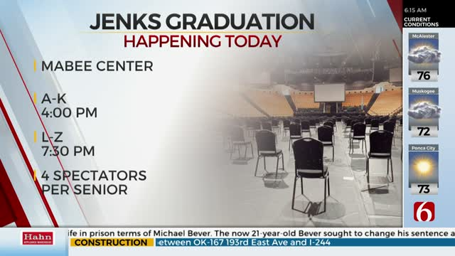 Jenks Public Schools To Hold 2 Graduation Ceremonies