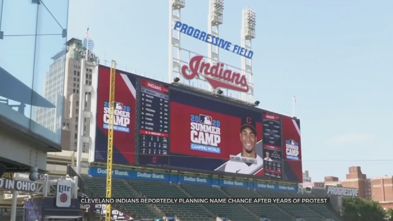 Cleveland Indians To Change Nickname, Drop 'Indians'