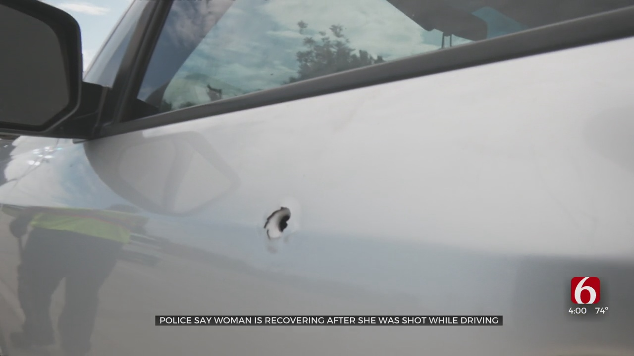 Woman Recovering After Being Shot While Driving, Police Say