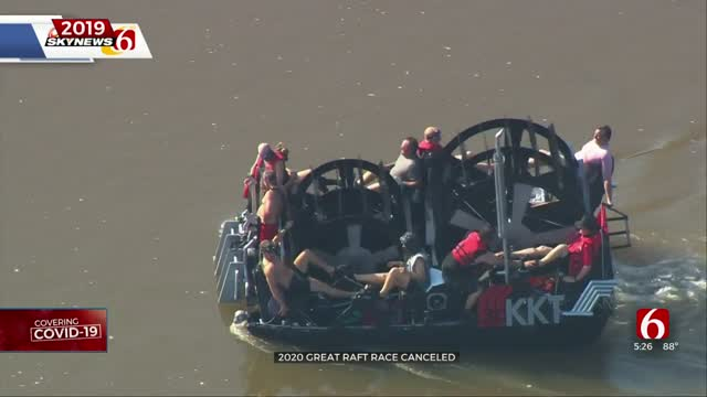 Tulsa's Great Raft Race Cancelled For 2020