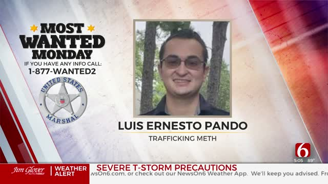 Most Wanted: Meth Trafficking Suspect On Run