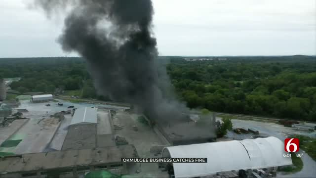 Business Suffers Damage After Okmulgee Glass Plant Catches Fire