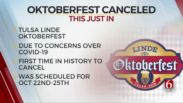 Linde Oktoberfest Canceled For 1st Time Due To COVID-19 Pandemic