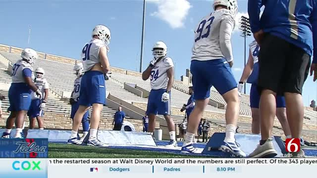 TU Football Gearing Up To Get Back To Game Day