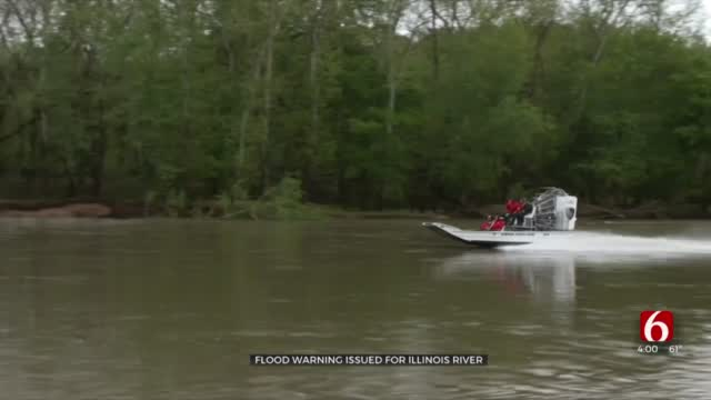Illinois River Expected TO Reach Minor Flood Stage Category