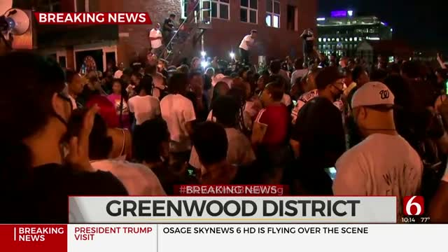 Peaceful Protests Turn Into Party In Greenwood