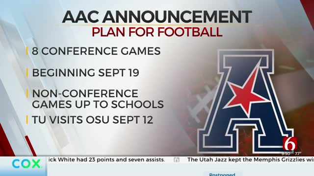 American Athletic Conference Announces Fall Sports Plan