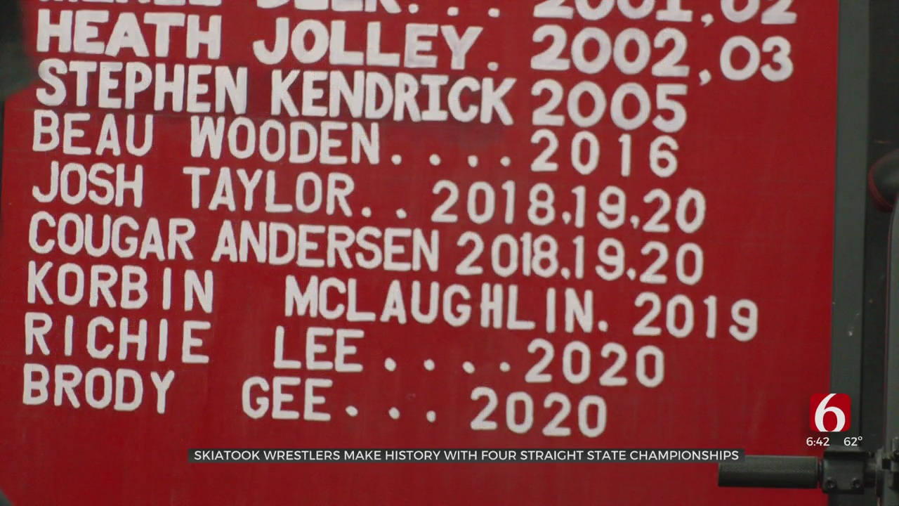 Standout Pair Of Skiatook Wrestlers Win Fourth State Titles In Four Years