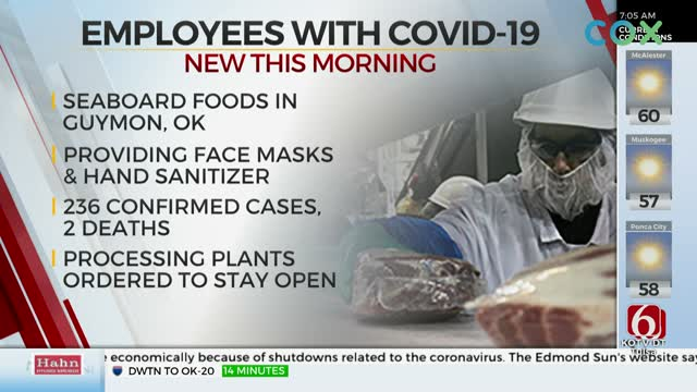 More Than 100 Oklahoma Pork Processing Plant Employees Test Positive For Coronavirus (COVID-19)