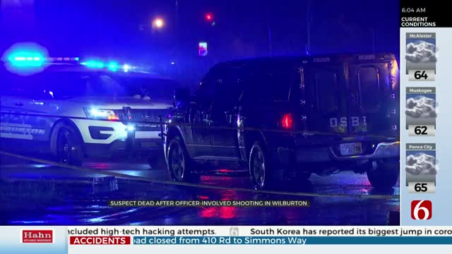 Police: 1 dead after Wiburton Officer Involved Shooting