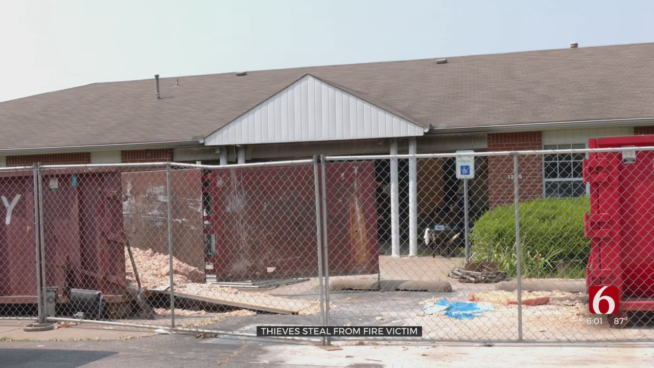 Broken Arrow Man Victim Of Theft After Fire Forced Evacuation From His Apartment