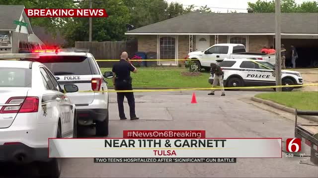 Tulsa Police: 2 In Hospital After Shooting