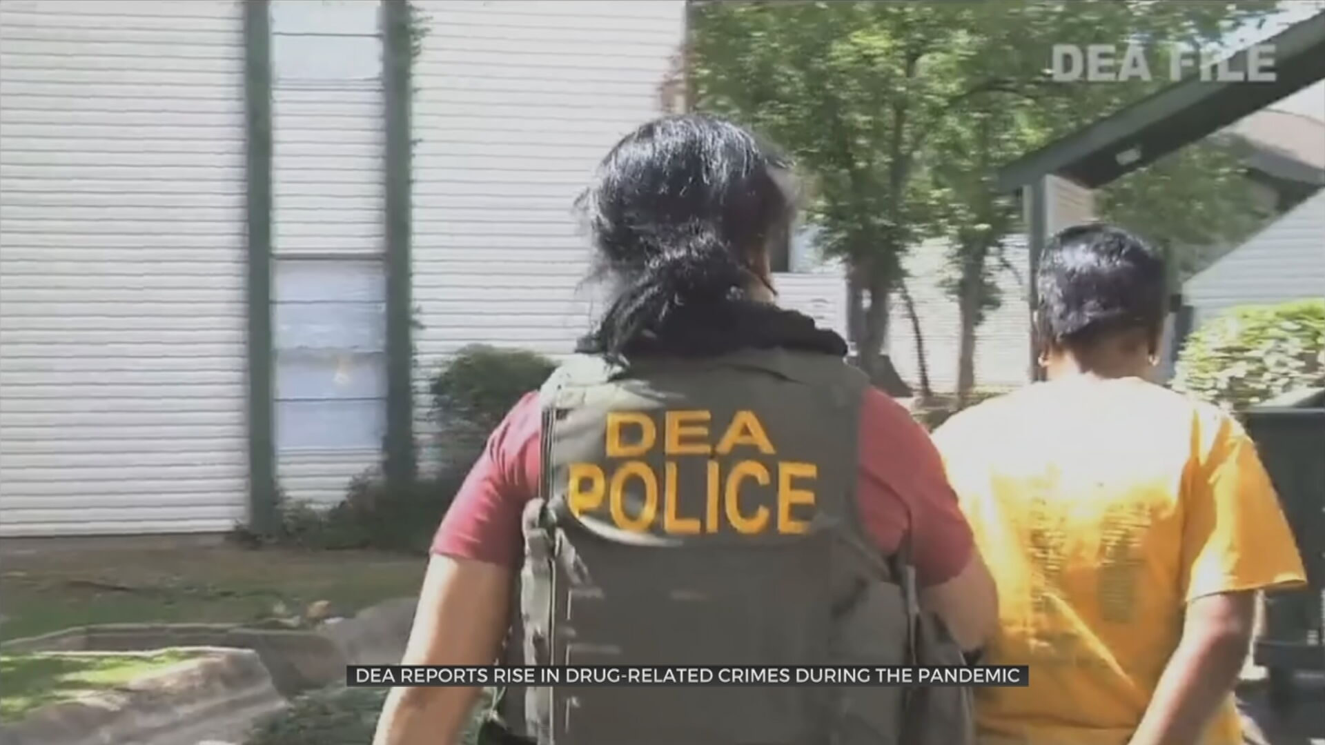 DEA Reports Rise In Drug-Related Crimes During Pandemic