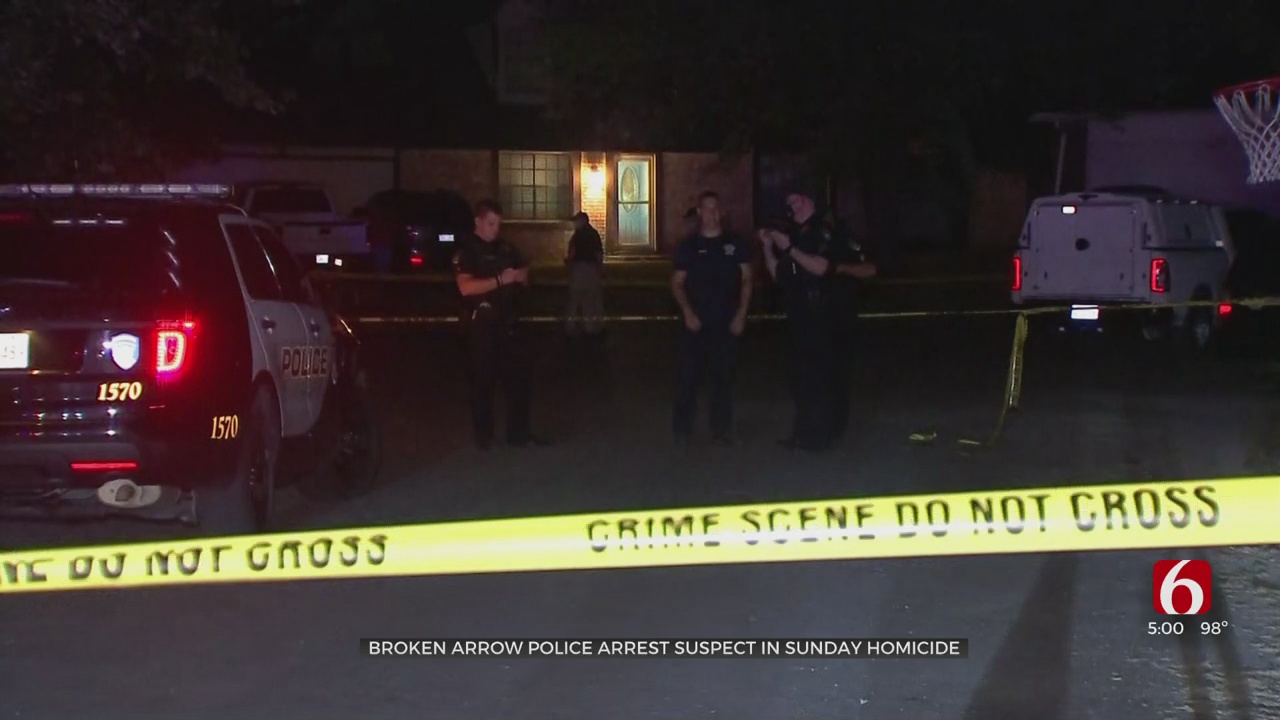 46-Year-Old Man Killed After Shooting At Broken Arrow House, Suspect Arrested