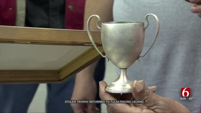 Racing Community Tracks Down Tulsa Legend's Stolen Trophy