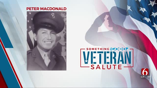 Veteran Of The Day: Peter MacDonald