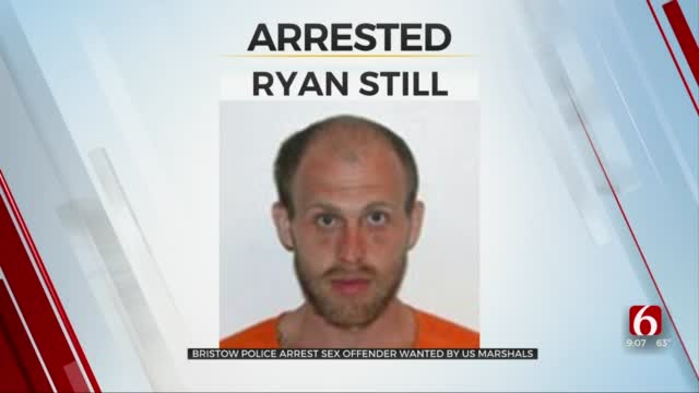 Bristow Police Arrest Sex Offender Wanted By U.S. Marshals