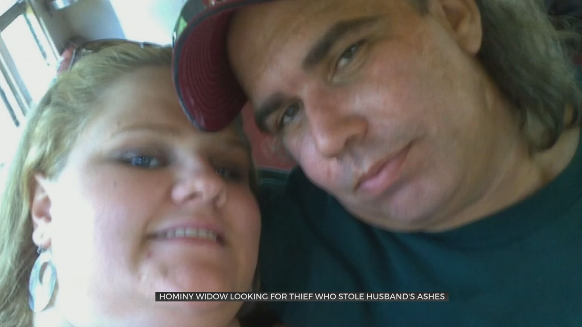 Hominy Widow Heartbroken, Searching For Thief Who Stole Husband's Ashes