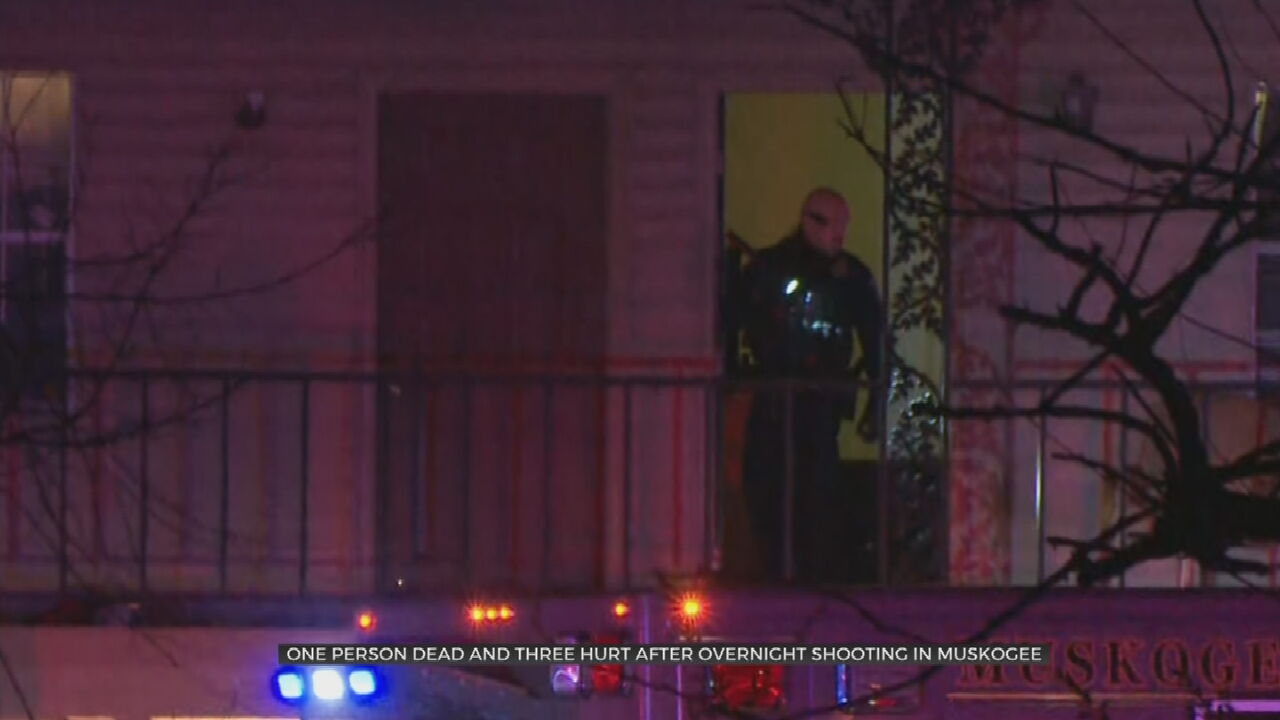 1 Person Killed, 3 Injured In Overnight Shooting, Muskogee Police Say