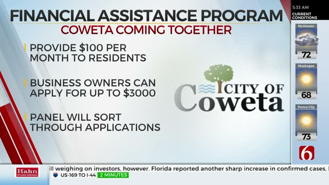 City of Coweta Creates Financial Assistance Program for Businesses and Residents