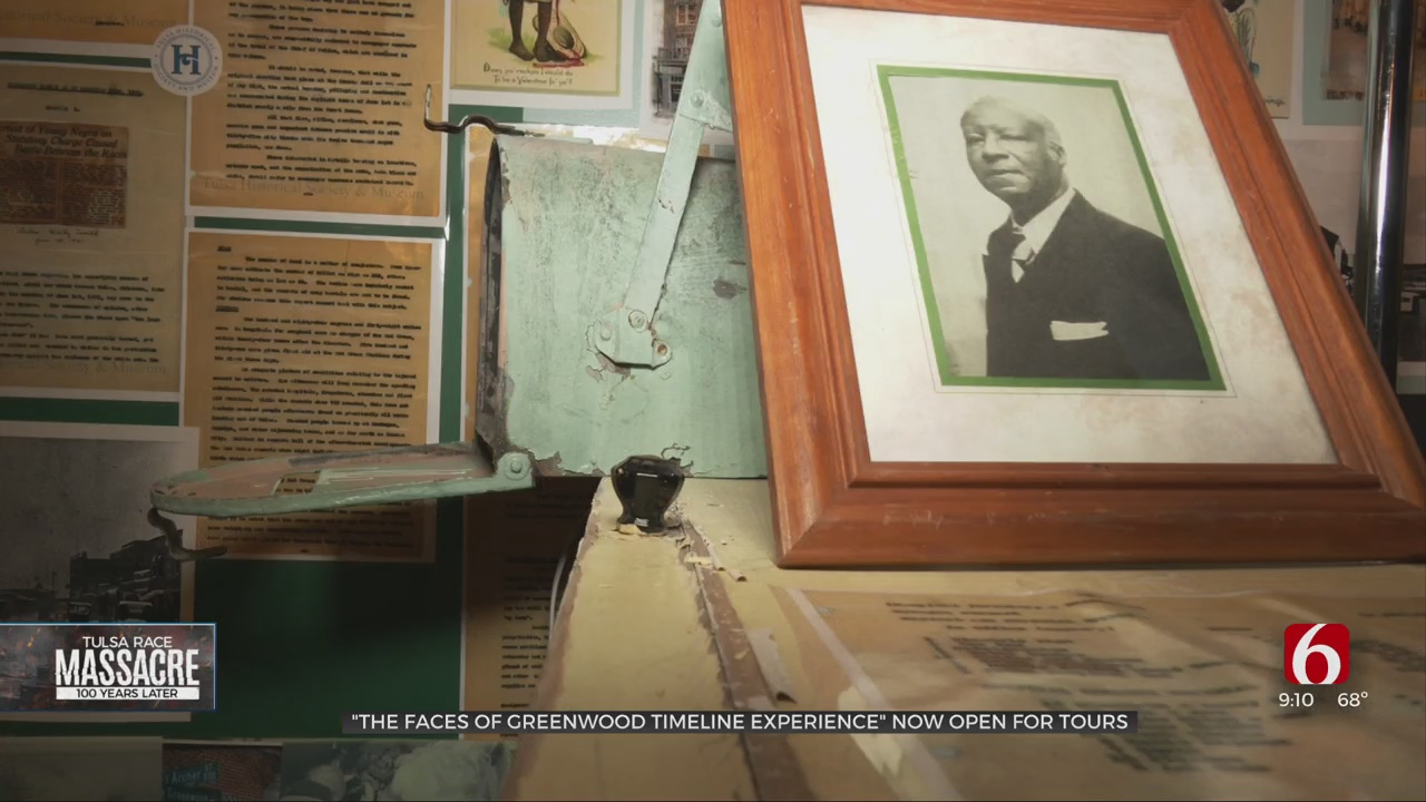 New Additions To 'Faces Of Greenwood Timeline Experience' Now Open For Tours
