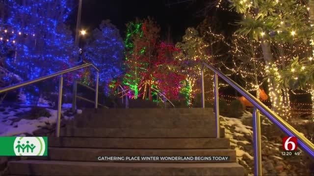 Tulsa's Gathering Place Kicks Off Annual Winter Wonderland Festival With COVID-19 Precautions