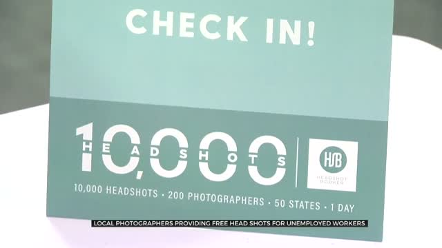 Tulsa Photographers Offer Free Head Shots To Help The Unemployed