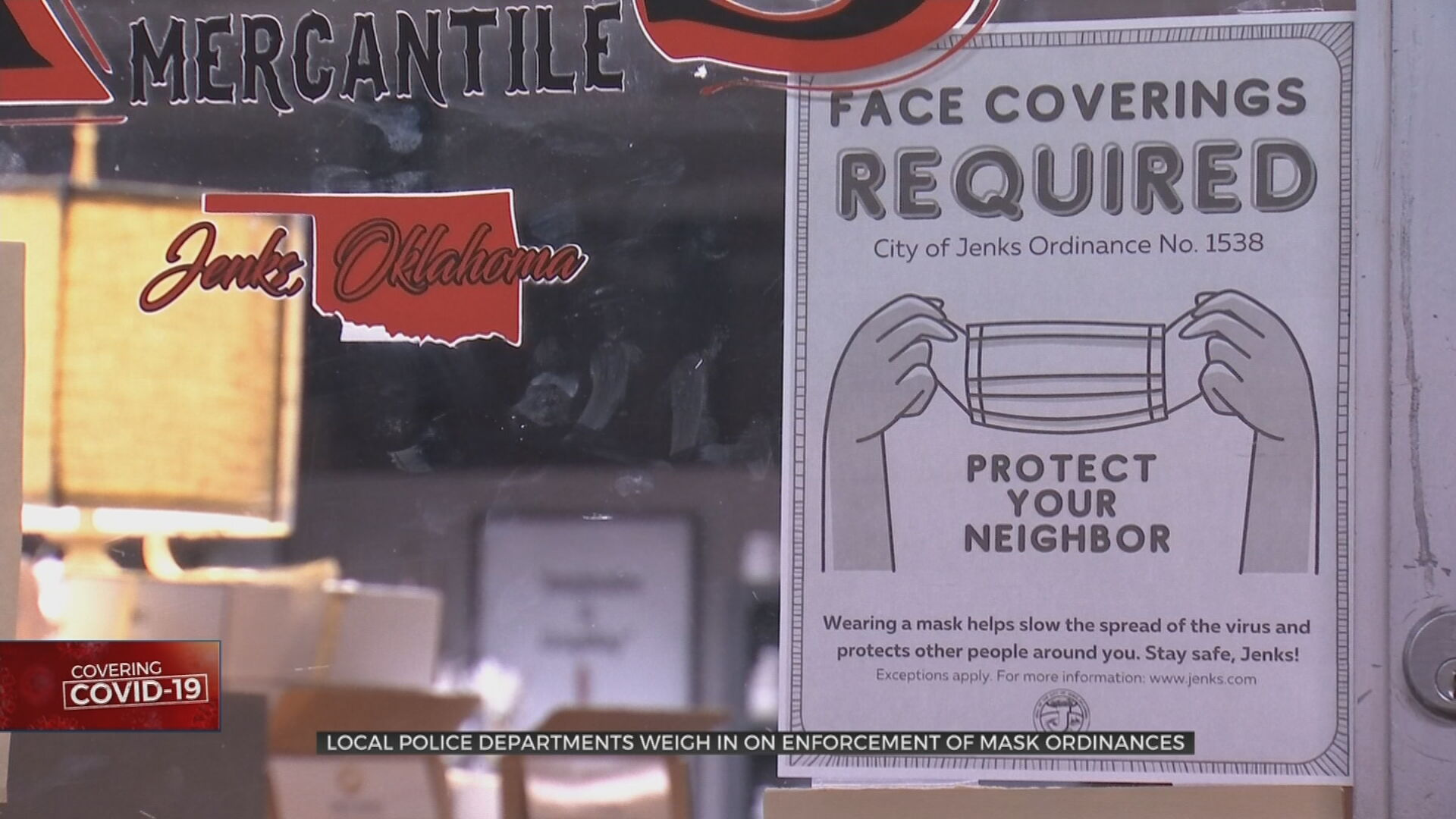 Local Police Departments Weigh In On Enforcement Of Mask Ordinances