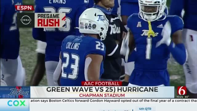 Golden Hurricane Pulls Off Double Overtime Comeback Thriller Over Tulane
