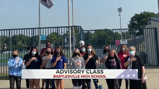 Daily Pledge: Advisory Class From Bartlesville High School