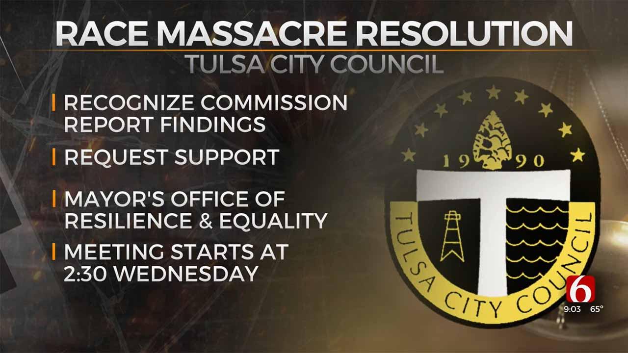 Tulsa City Council To Consider Race Massacre Resolution
