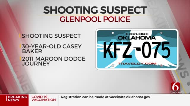 Glenpool Police Search For Person Of Interest After Shots Fired Into Home