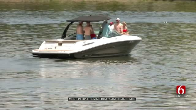 Boat Sales Skyrocket In Pandemic As Families Seek To Social Distance Outside