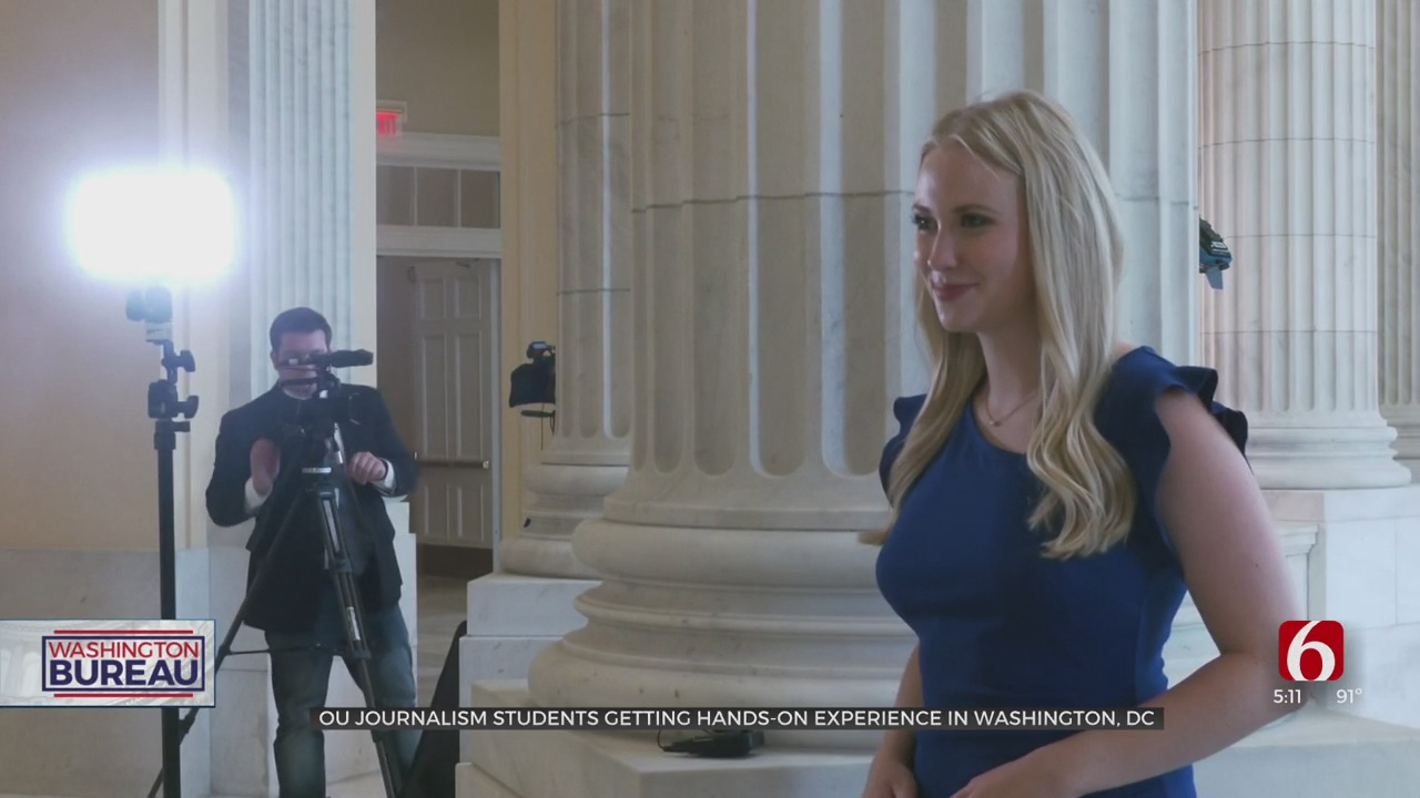 Students Hone Skills At OU's Gaylord School Of Journalism News In DC Program