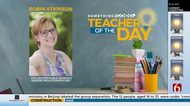 Teacher Of The Day: Robin Atkinson