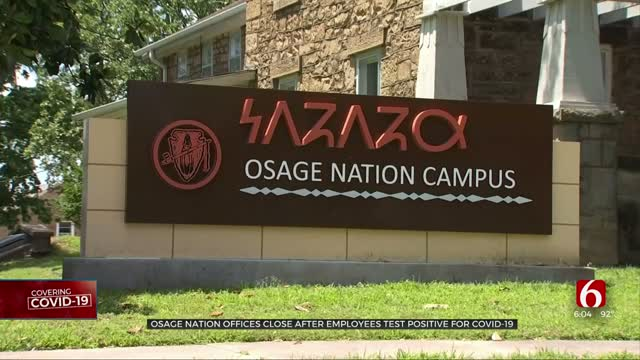 Osage Nation Closes Campuses After Employees Test Positive For COVID-19
