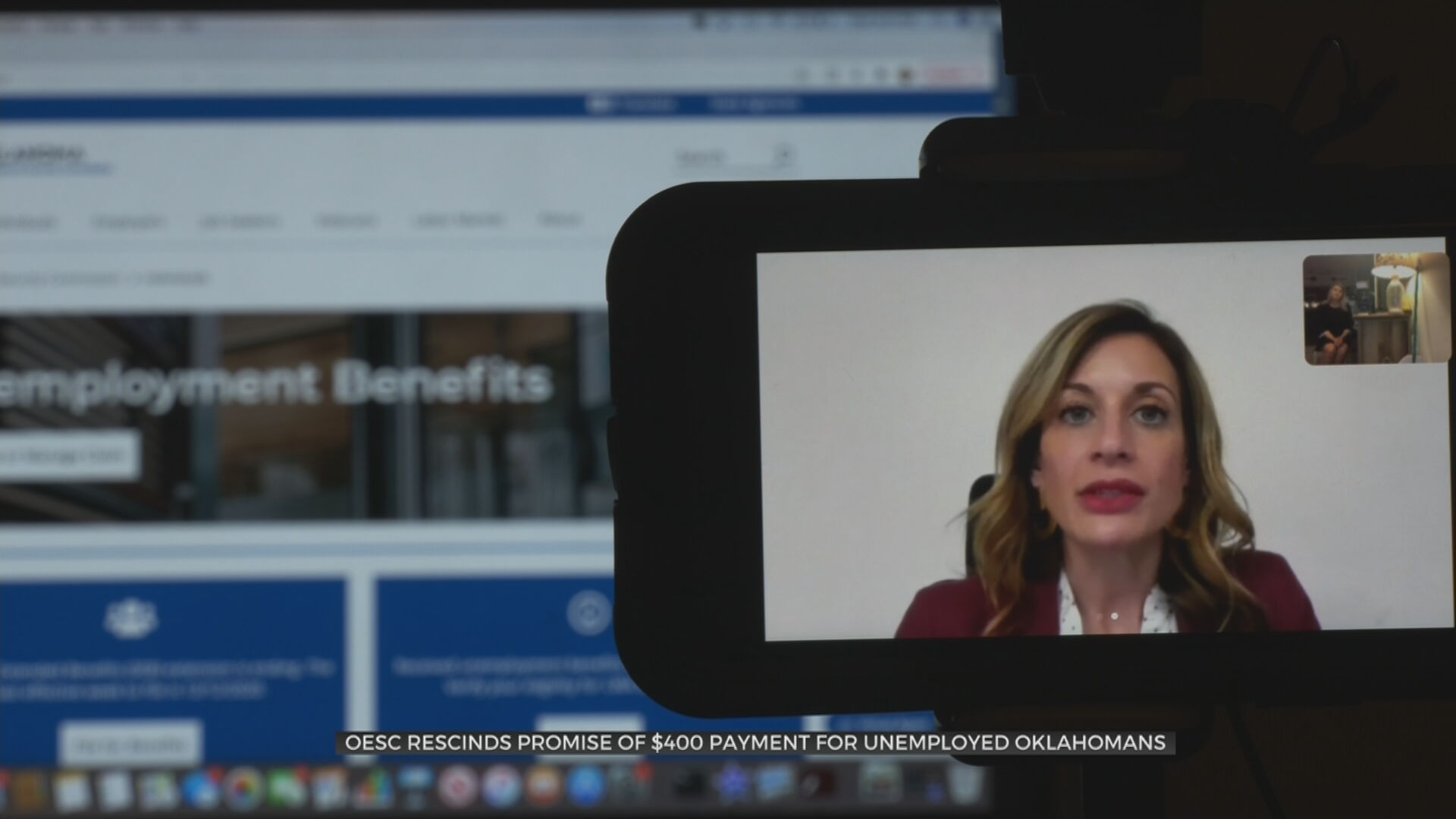 OESC Rescinds Payment Promise Dealing 'Another Blow' To Unemployed Oklahomans