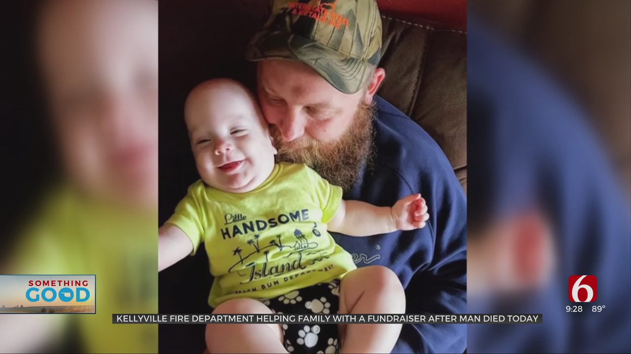 Kellyville Fire Department, Community Helps Family After Father Of 4 Passes Away