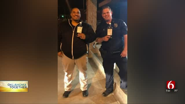 Oklahoma Distillery Donates Hand Sanitizer To First Responders