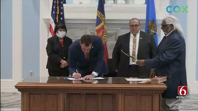 Oklahoma Gaming Association Suspends Two Tribes After Compacts Signing