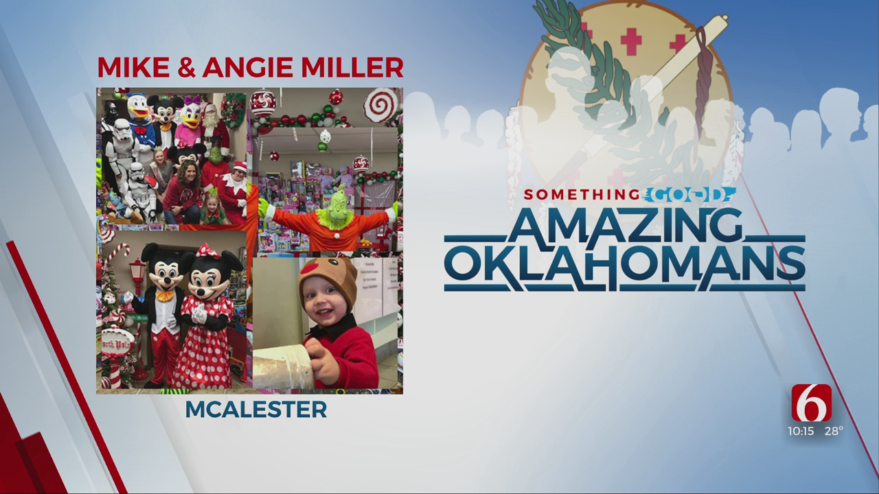 Amazing Oklahoman: Mike & Angie Miller