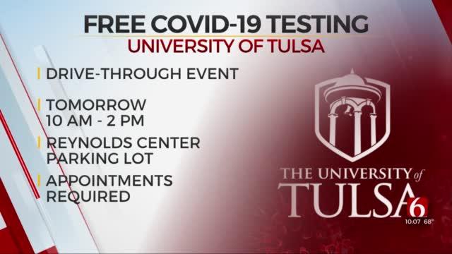 Free COVID-19 Testing Available At University Of Tulsa