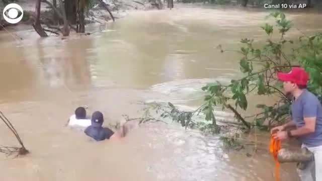 Hurricane Iota Slams Central America Days After Hurricane Eta