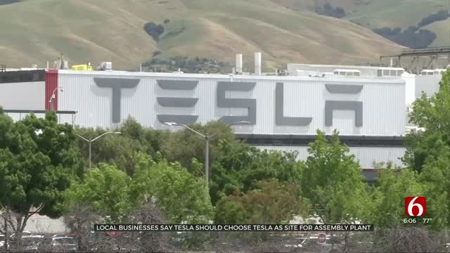 Tulsa May Be Next Location For Tesla Factory