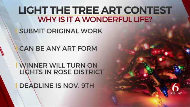 Art Submissions Wanted For 'It's A Wonderful Life In Broken Arrow' Contest
