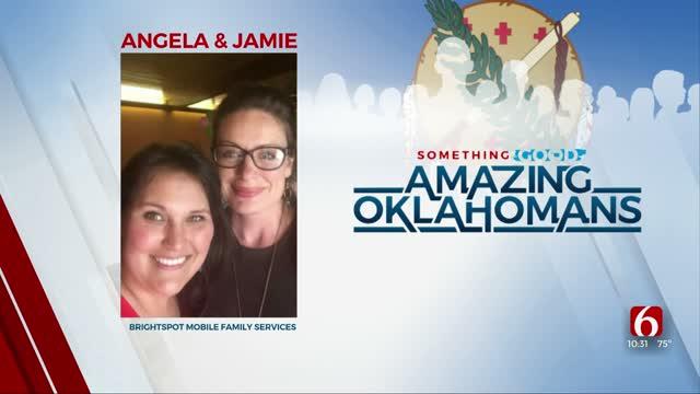 Amazing Oklahoman: Angela & Jamie Work To Feed The Hungry