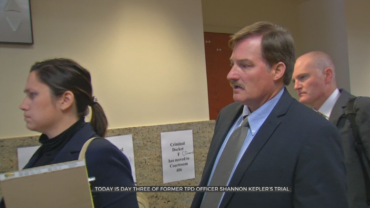 Trial Of Former Tulsa Police Officer Shannon Kepler Moves Into Day 3