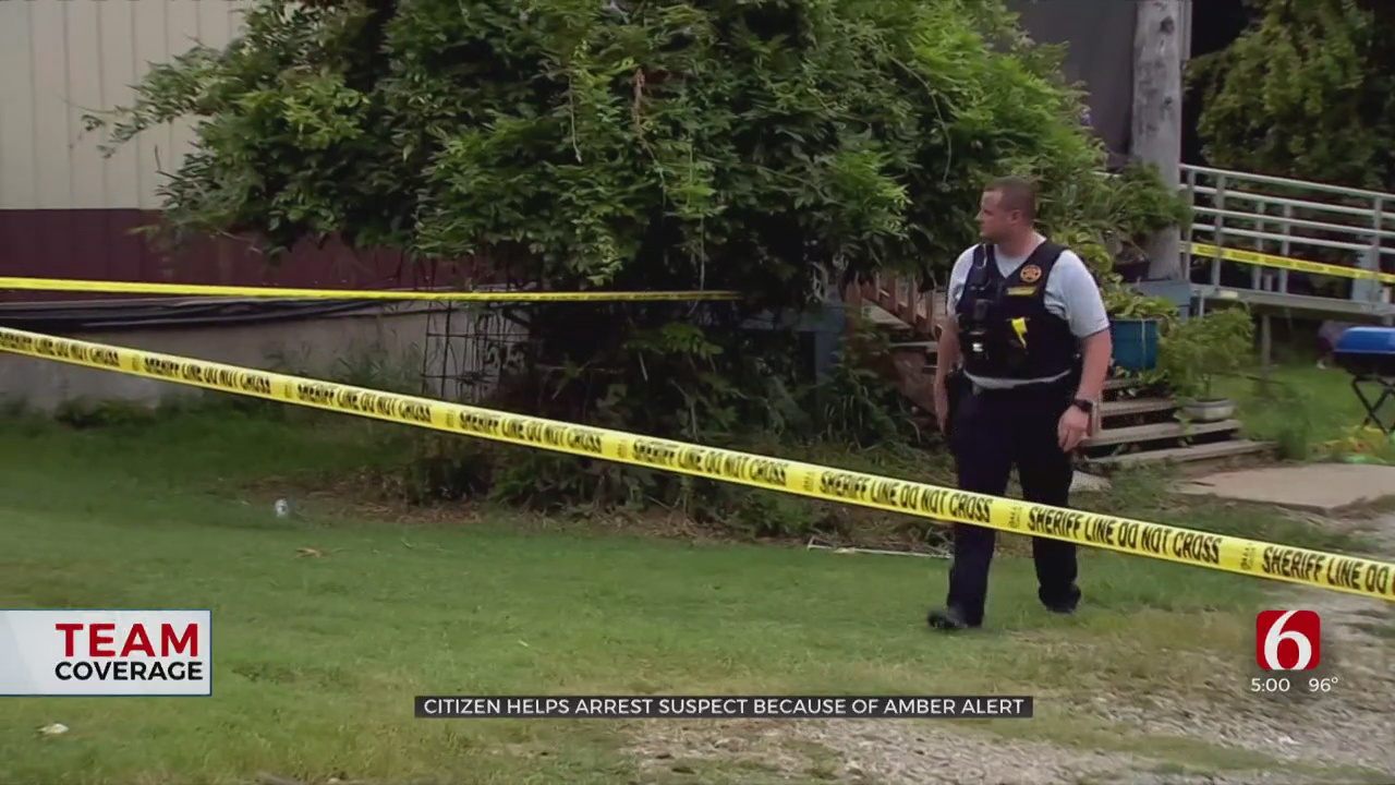 2 Kids Safe After Officials Say Citizen Helps Track Down Amber Alert, Murder Suspect