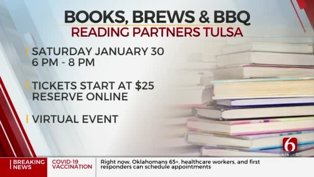 Reading Partners To Hold 'Books, Brews, & BBQ' Fundraiser