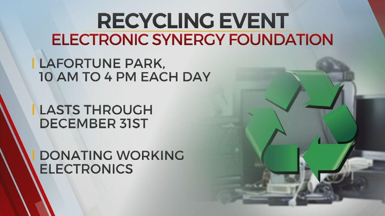 Tulsa Non-Profit Hosts E-Waste Recycling Event